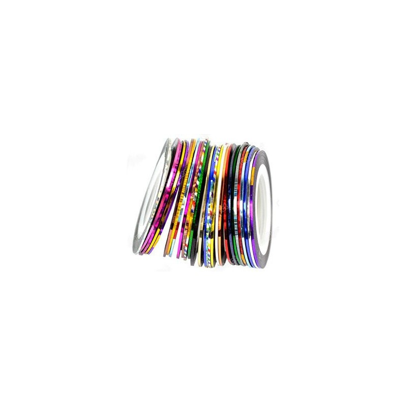 30pcs mixed colors rolls striping tape line nail art 30pcs mixed colors rolls striping tape line nail art tips decoration sticker from y2b prinsesfo Gallery