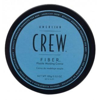 American Crew Fibra Flexible Moldeo Crema Hombres, tarros 3,53 onzas (paquete de 2)