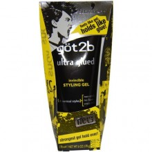 Got2b Ultra encolada Invincible Styling Gel, de 6 onzas (Pack de 2)