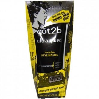 Got2b Ultra collésFabrication Invincible Styling Gel, 6-Ounce (Pack de 2)