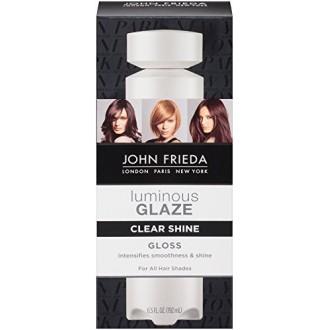 John Frieda Líquido Brillo claro esmalte de pelo, 6.5 onza líquida
