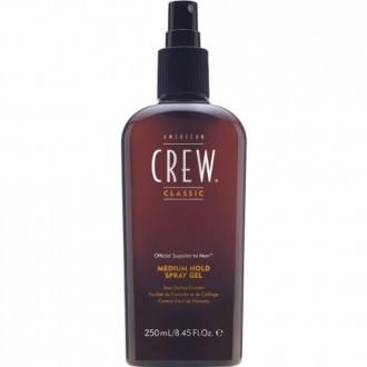 Spray Gel American Crew Hombres, Fijación media 8,45 fl oz