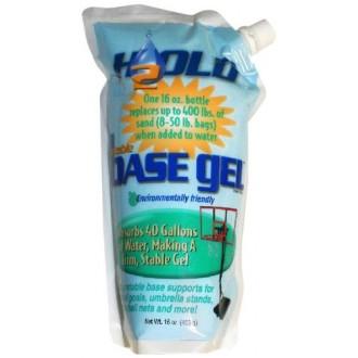 BaseGel canasta de baloncesto Bases portátil Polímero, de 16 onzas