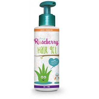 Gel para el pelo para niños | Fijación Ligera | Química libre | Hecho con Orgánico Aloe Vera y vitaminas | Seguro en bebés, niño