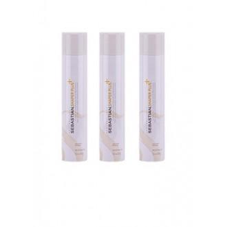 SEBASTIAN Shaper Plus Hairspray, 3 Bottles, 10.6 oz Each