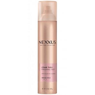 Nexxus Acabado niebla laca de pelo, peine Thru Volumen 10 oz