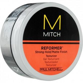 Paul Mitchell hombres de Paul Mitchell Mitch reformador Fijación Fuerte / acabado Mate Textura y Hombres, de 3 onzas