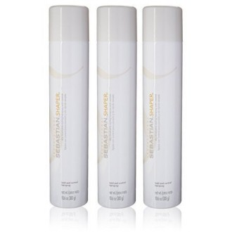 Sebastián Shaper Hairspray 3 botellas (10.6oz cada uno)