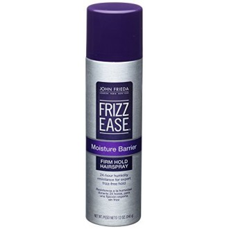 John Frieda Frizz Ease Moisture Barrier Firm Hold Spray, 12 Ounce