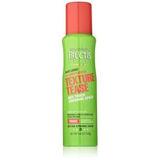 De construida-Garnier Fructis Style Hair Care textura Tease Hairspray, 3,8 onza