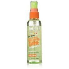Garnier Fructis Style Brilliantine Shine Glossing Spray, 3 Fluid Ounce