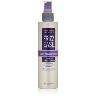 John Frieda Frizz Ease Daily Nourishment Leave-In Conditioning Spray by John Frieda for Unisex Hair Spray, 8 Ounce (Pack of