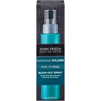 John Frieda Bellas lujoso volumen completo a Blow Out spray, 4 onza de líquido
