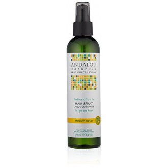 Andalou Naturals Perfect Hold Hair Spray, Sunflower and Citrus, 8.2 Ounce