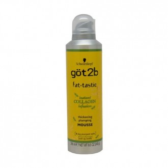 Got2b Fat-tastic Thickening Plumping Mousse, 8.5-Ounce