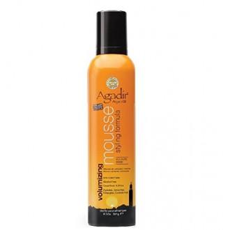 Agadir aceite de argán para dar volumen de espuma de peinado, 8.5 onza