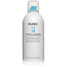 RUSK Designer Collection Volume Mousse maximale et de contrôle, 8,8 fl. oz