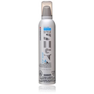 Goldwell Style Sign 4 Top Whip Ultra Strong Volume Mousse for Unisex, 10.3 Ounce