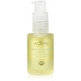 Acure Glowing Sérieusement Sérum Facial, 1 Ounce