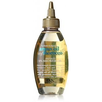OGX Hidratación Plus reparación de aceite de argán de Marruecos Extra Strength Miracleen el aceite de ducha, 4 onzas