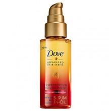 Dove Hair avanzada Serie suero en aceite, Regenerativa Alimentación 1,7 oz