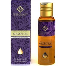 Premium Argan Oil for Hair Treatment, Conditioning & Hair Loss Prevention, Provides Anti-Aging Properties (120 ML/4 OZ)