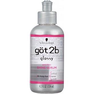 Got2b Glossy Shine Anti encrespamiento del cabello Serum, 4,2 onza (Pack de 2)