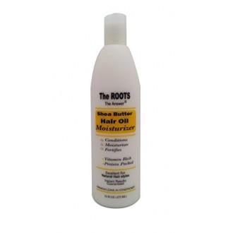 Les racines du beurre de karité africain huile de cheveux Hydratant et congé en revitalisant-LA RÉPONSE | Ingrédients naturels p