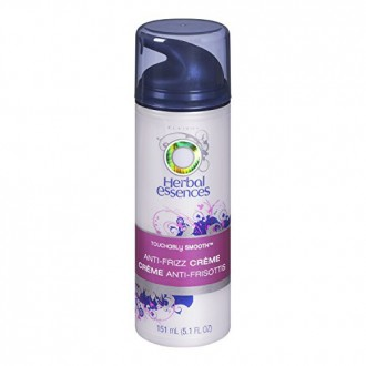 Herbal Essences Touchably Smooth Anti-Frizz Creme Hair Care 5.1 Fl Oz