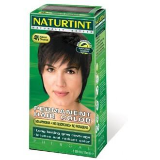 Naturtint Permanente Hair Color - 4N natural castaño, 5,28 fl oz (paquete de 6)