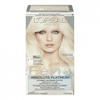 Feria Absolute Platines Couleur des cheveux, Extreme Platinum (emballage peut varier)