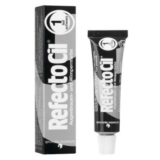 RefectoCil Cream Hair Dye (noir PURE) 0,5 oz