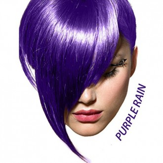 ARCTIC FOX 100% VEGAN PURPLE RAIN SEMI PERMANENT HAIR COLOR DYE 4 OZ