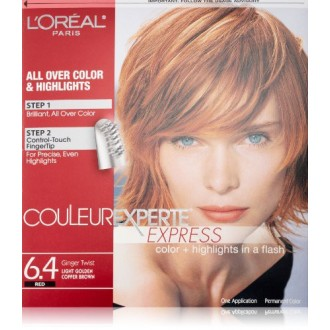Couleur Experte Light Golden Copper Brown , Ginger Twist