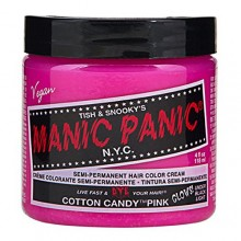 Cotton Candy Pink Manic Panic 4 Oz Hair Dye
