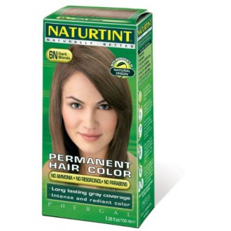 Naturtint Permanente Hair Color - 6N Rubio oscuro, 5,28 fl oz (paquete de 6)