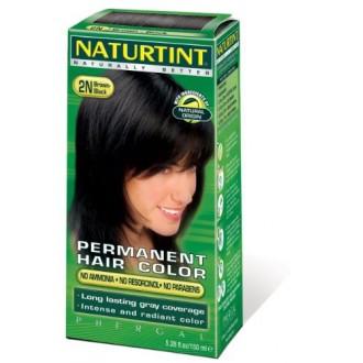 Naturtint Permanente Hair Color - Negro Marrón 2N, 5,28 fl oz (paquete de 6)
