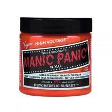El pánico maníaco del pelo del tinte clásico color crema psicodélico del naranja Fórmula semi-permanente por la belleza Manic Pa
