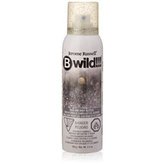 Jerome Russell B Wild Hair and Body brillo, plata, 3,5 onza