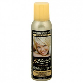 jerome russell B Blonde Temporary Highlight Spray, Beach Blonde, 3.5 Ounce