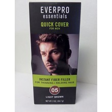 Everpro Essentials Fiber Filler for Men 05 Light Brown 2 Oz. Spray