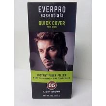 Everpro Essentials Fiber Filler for Men 05 Light Brown 2 Oz. Pulvérisation