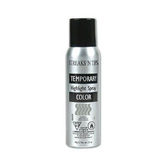 Icy White Temporary Color Highlight Spray 3.5oz (PACK OF 6)
