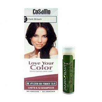 Love - Your Color Cosamo - Non Permanent Hair Color, 779 Dark Brown Plus One Jarosa Beauty Bee Organic Peppermint Lip Balm