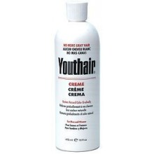 Youthair Crema para hombres y mujeres de color natural Gradualmente 16 oz / 473ml (Pack de 3)