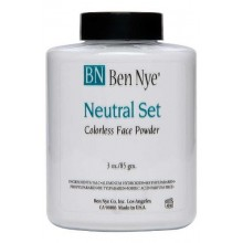 Ben Nye Classic Translucent Face Powder 3 Oz Neutral Set Face Powders