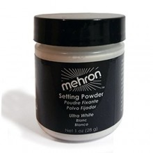 Mehron - UltraFine Setting Powder - Ultra White - 1 oz