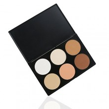 RUIMIO Makeup Contour Kit Highlight and Bronzing Powder Palette - 6 Colors