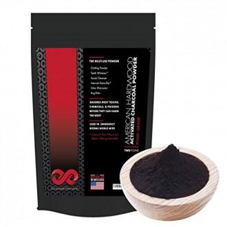 Activé poudre charbon, énorme sac 2 LB, de qualité alimentaire, Amazing Body Detox, Dents Whitener, Peau Potent et Digestive