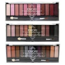 36 elegante natural, ahumado, kit de maquillaje sombra de ojos Ultra Pro color